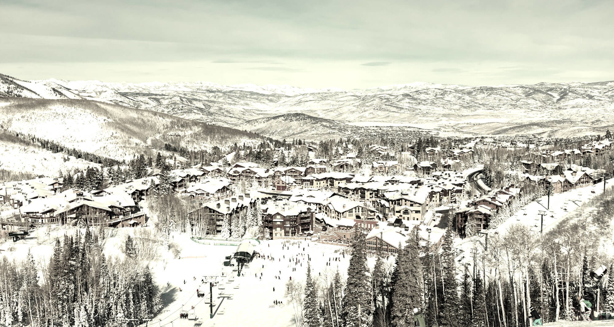 Old picture of Deer Valley Ski Resort